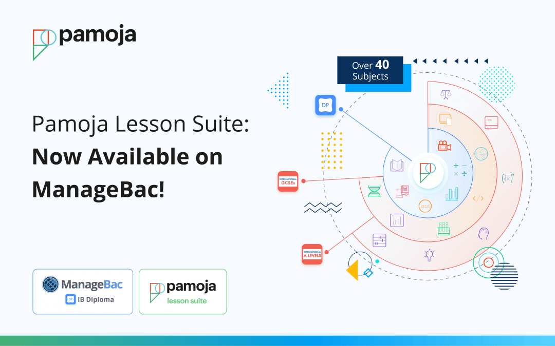 Pamoja Lesson Suite: Now Available on ManageBac!
